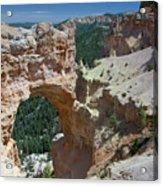 Natural Arch Bryce Canyon - Utah Acrylic Print