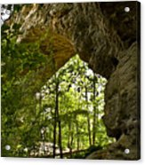 Natural Bridge Arch Acrylic Print