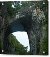 Natural Bridge Acrylic Print