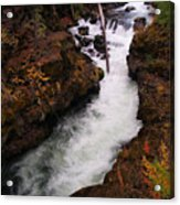 Natural Bridge Gorge Acrylic Print