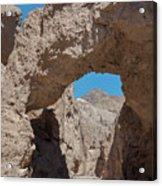 Natural Bridge One Death Valley Ca Acrylic Print