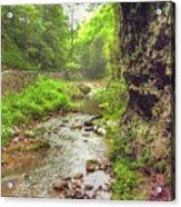 Natural Bridge Valley Acrylic Print