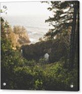 Natural Bridges Cove Acrylic Print