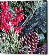 Natural Christmas 3 Acrylic Print