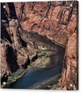 Natural Colorado River Page Arizona  Acrylic Print