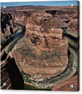 Natural Horseshoe Bend Arizona  Acrylic Print