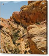 Natural Staircase Valley Of Fire Acrylic Print