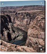 Natural View Colorado River Page Arizona  Acrylic Print