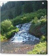 Natural Waterfall Acrylic Print
