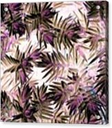 Nature Abstract In Pink And Brown Acrylic Print