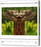 Nature In Abstract 4 Poster Acrylic Print
