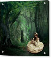 Nature Is Her Adornment Acrylic Print