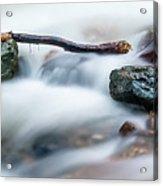 Natures Balance - White Water Rapids Acrylic Print
