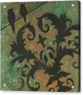 Natures Whimsy 4 By Madart Acrylic Print