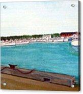 Naufrage Harbour Pei Acrylic Print