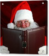 Naughty Or Nice Acrylic Print by Michael Ledray