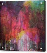 Naughty Unicorn 1 Acrylic Print