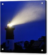 Nauset Light Storm Acrylic Print