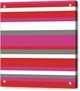 Nautical Stripes Acrylic Print