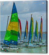 Nautical Travel Acrylic Print