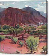 Navajo Corral Acrylic Print