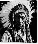 Navajo Indian Chief Acrylic Print