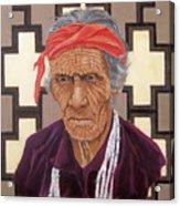 Navajo Medicine Man Acrylic Print