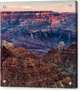 Navajo Point Sunrise Acrylic Print