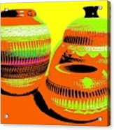 Navajo Pots Acrylic Print