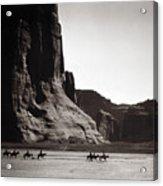 Navajos: Canyon De Chelly, 1904 Acrylic Print by Granger