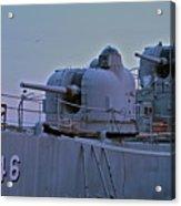 Naval Gun Acrylic Print