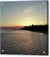 Navarre Florida Sunset Acrylic Print