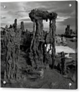 Navy Beach--mono Lake Acrylic Print