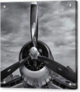 Navy Corsair Propeller Acrylic Print