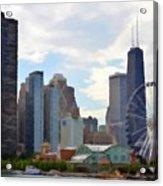 Navy Pier Chicago Illinois Acrylic Print