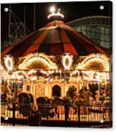 Navy Pier Merry-go-round Chicago Il Acrylic Print