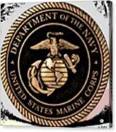 Navy Seal Acrylic Print