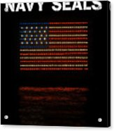Navy Seals Flag Acrylic Print