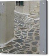 Naxos Path Acrylic Print