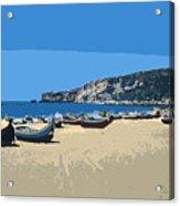 Nazara Beach 4 Acrylic Print