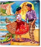 Nazare Portugal Acrylic Print