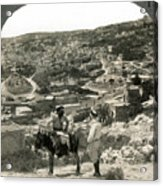 Nazareth, Palestine, C1920 Acrylic Print