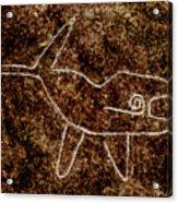 Nazca Killer Whale Acrylic Print