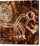 Nazca Monkey Acrylic Print