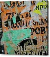 Nazionale Acrylic Print