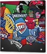 NBA Acrylic Print