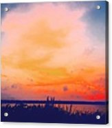 Southcoast Sunset Acrylic Print