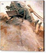 N.c. Wyeth: Ore Wagon Acrylic Print