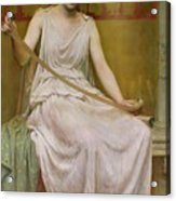 Neaera Reading A Letter From Catullus Acrylic Print
