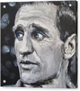 Neal Cassady - On The Road Acrylic Print by Eric Dee
